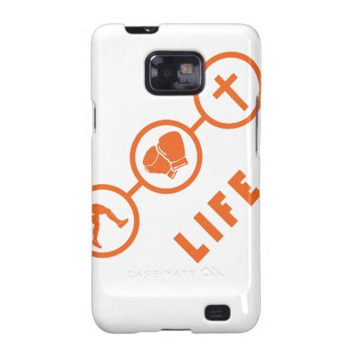 Run Fight Die - That's life! Galaxy SII Case