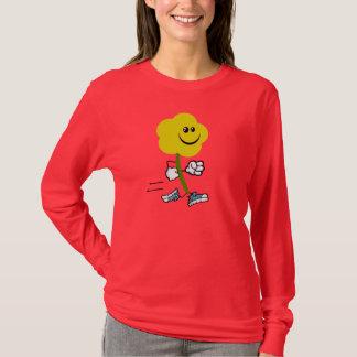 Run Florist Run Running Flower T-Shirt
