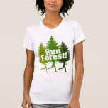 Run Forest, Protect the Earth Day Shirt
