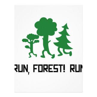 Run, Forest! RUN! Letterhead