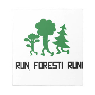 Run, Forest! RUN! Notepad