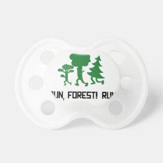 Run, Forest! RUN! Pacifier