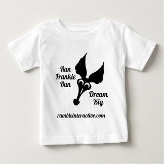 Run Frankie Run Dream Big Baby T-Shirt