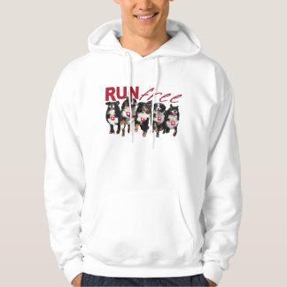 Run Free Berner hooded sweatshirt