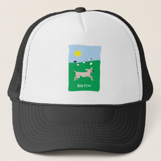 Run Free Dog - Paw of Attraction Trucker Hat