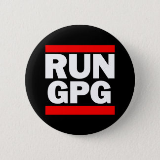 Run GPG 2 Inch Round Button