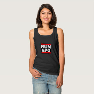 Run GPG Tank Top