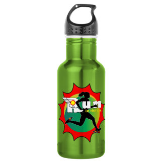Run In The Sun Logo Water Bottle