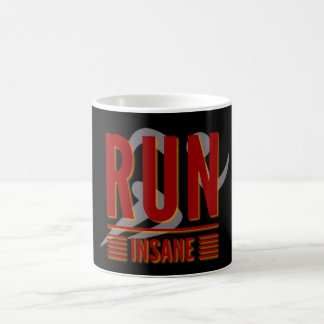 Run Insane Coffee Mug