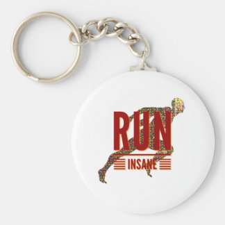 Run Insane Keychain