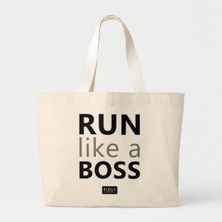 Run Like A Boss Tote Bag