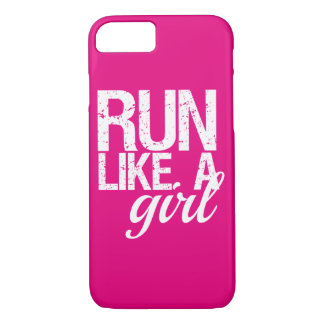 Run Like a Girl funny phone case