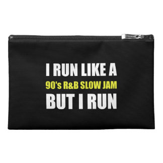Run Like Slow Jam Funny Travel Accessory Bag