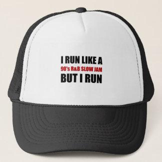 Run Like Slow Jam Funny Trucker Hat