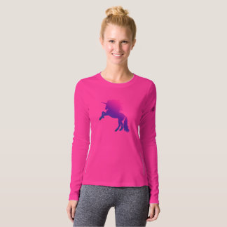 Run like the Wind Rainbow Unicorn Running Top