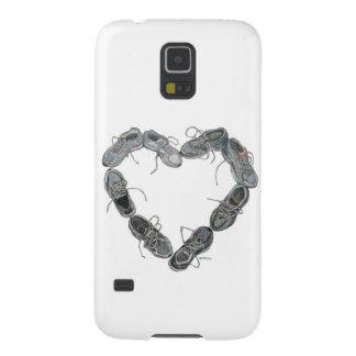 Run Love - Running Shoes Heart Phone Case
