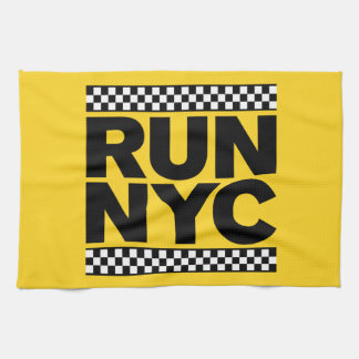 RUN NYC TAXI KITCHEN TOWEL