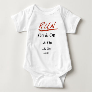 Run On & On Baby Bodysuit
