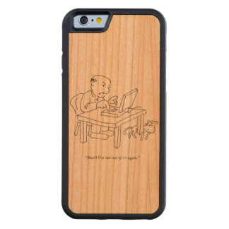 Run Out of 'E's Wood Smartphone Case
