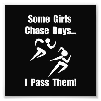 Run Pass Boys Photographic Print