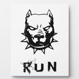 RUN PLAQUE