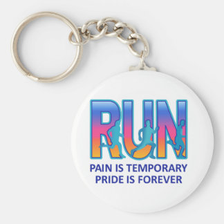 RUN PRIDE IS FOREVER KEYCHAIN