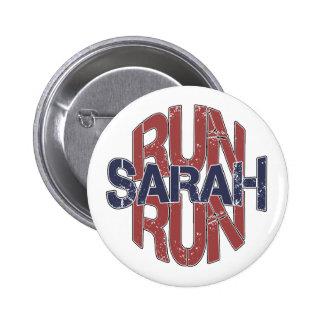Run Sarah Run Buttons
