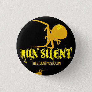 Run Silent Arachnida Logo Button - Customized