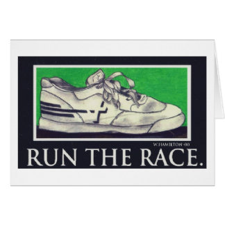 Run the race card