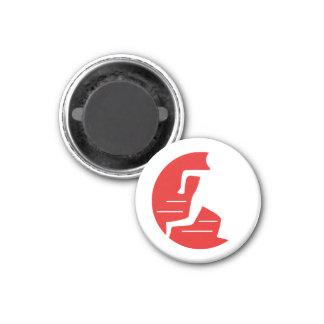 Run Towards Not From Running Man Logo Magnet