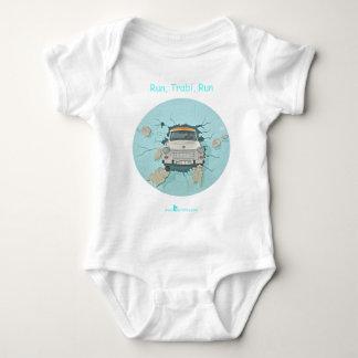 Run, Trabi, Run Baby Bodysuit