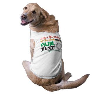 Run, Yinz! Marathon Pet Design Shirt