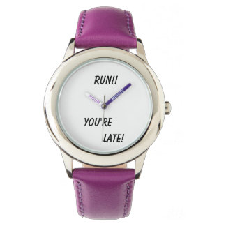 Run!! You're Late Watch