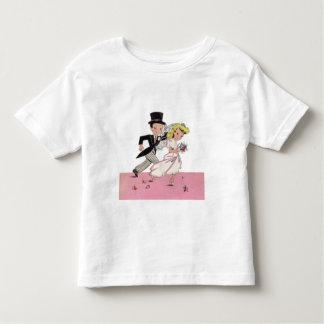 Runaway Bride & Groom T Shirts