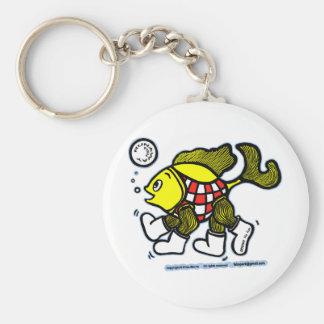 Runaway Fish Keychain