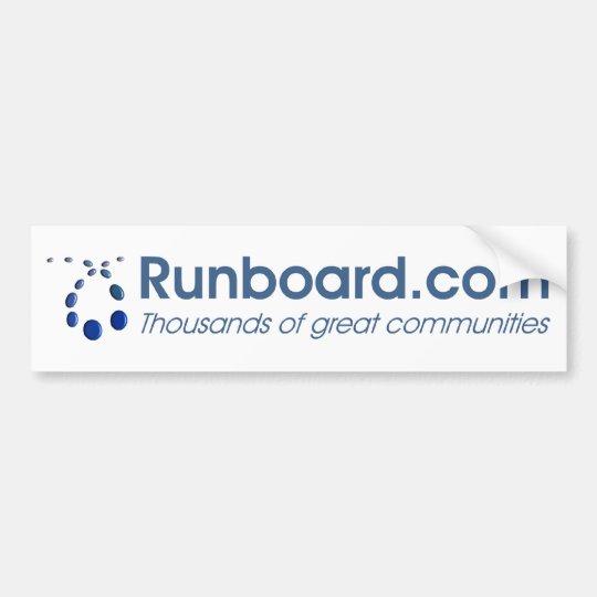 Runboard.com Bumper Sticker