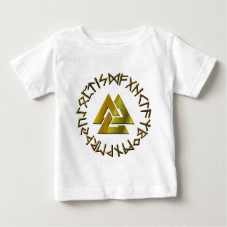 Rune Circle with Volknot Baby T-Shirt