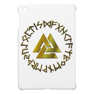 Rune Circle with Volknot iPad Mini Cover