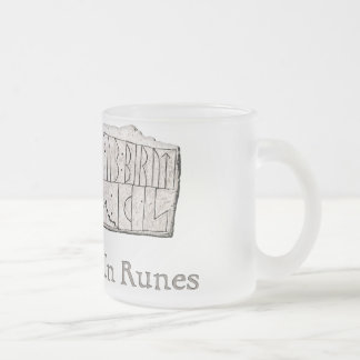 Rune DR 81 Frosted Glass Coffee Mug