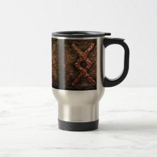 Rune Inguz Travel Mug