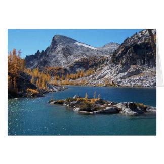 Rune Lake, The Enchantments, Cascades, Washington Card