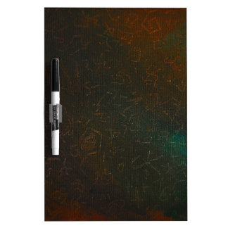 Runes Dry-Erase Whiteboard
