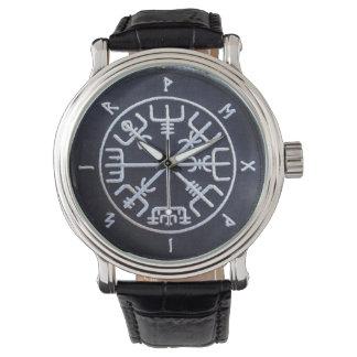 Runic Vegvísir Compass Watch