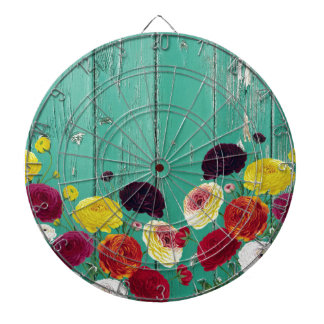Runinculus and green fence dartboard