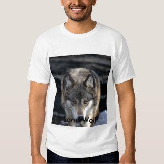 Runing Wolf, Lone Wolf Tshirt