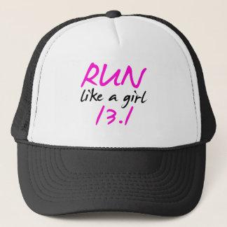 runlikeagirl13 trucker hat
