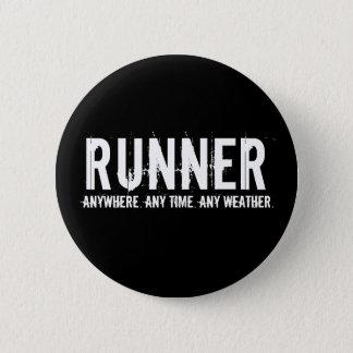 Runner 2 Inch Round Button