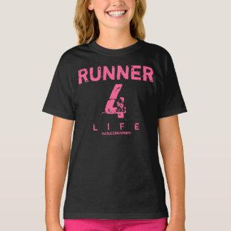 Runner 4 Life - Pink T-Shirt