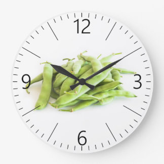Runner beans large clock