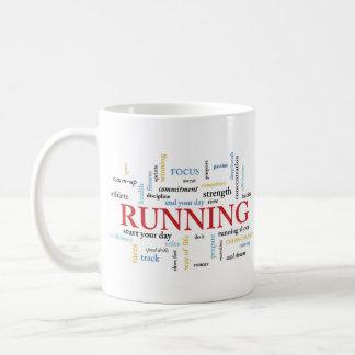 Runner Birthday with Words Gift Mug